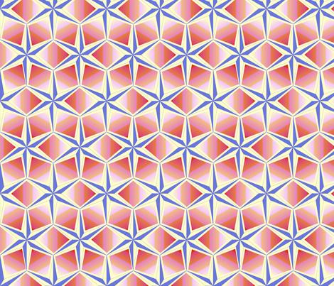 starquilt_-_pastel_blue_pink_orange_cream fabric by glimmericks on Spoonflower - custom fabric