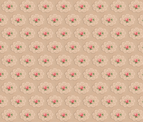 Doilies fabric by marchhare on Spoonflower - custom fabric