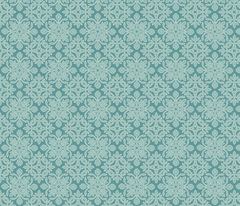 2papercuts-diagonal-TURQ-crm-BLGRY-Hsat-MGRNAdobe1998 fabric by mina on Spoonflower - custom fabric