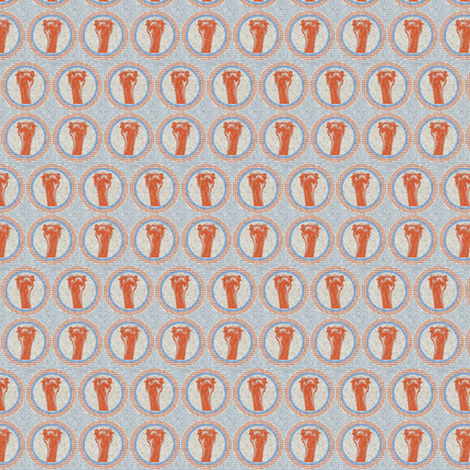 Ostrich on texture fabric by susiprint on Spoonflower - custom fabric