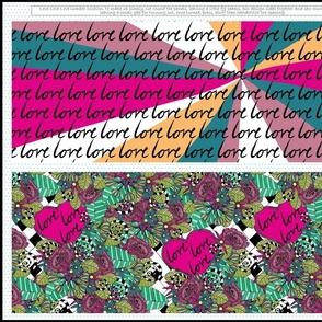 Love Love Love Lumbar Cushion
