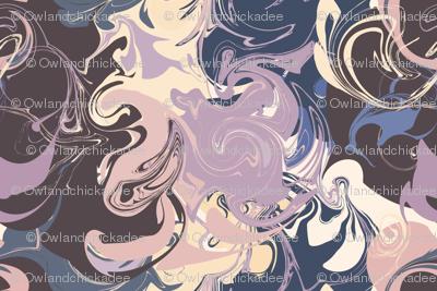 Marbled - Violet