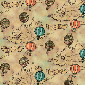 balloons_map_pattern