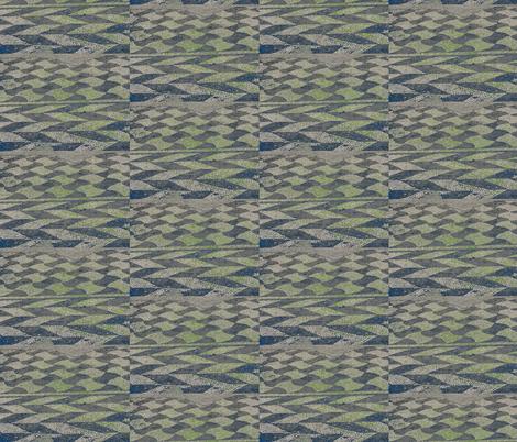Mosaic Peacock fabric by zippyartist on Spoonflower - custom fabric