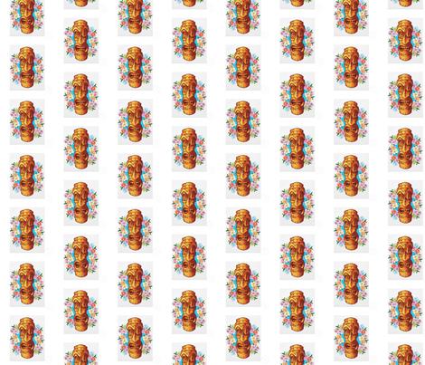 cartoon_tiki_statue_flyer-p244061221896011142b2pv5_400 fabric by kekelilun on Spoonflower - custom fabric
