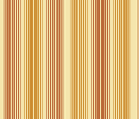 Retro Linear in Marmalade fabric by bradbury_&_bradbury on Spoonflower - custom fabric