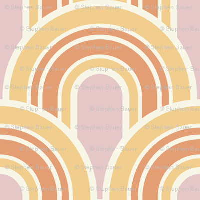 Retro Arches in Peppermint Sunshine