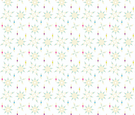 Aqua Angels Synchronized Swimming fabric by hollyakkerman on Spoonflower - custom fabric