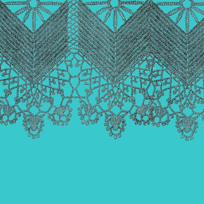 LACE TEARDROPS BORDER