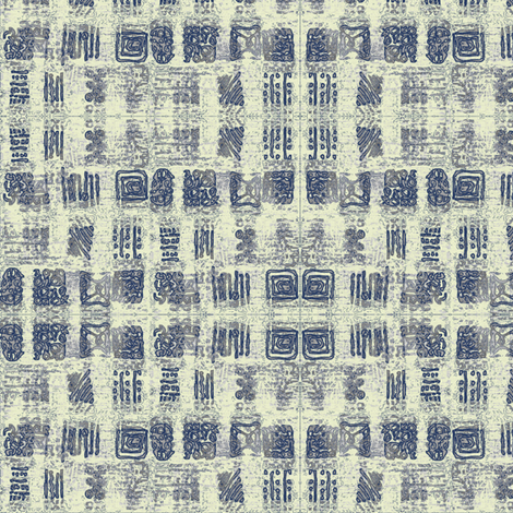 Smudged Ink fabric by donna_kallner on Spoonflower - custom fabric