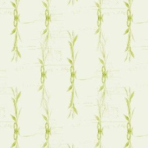 Green Willow Stripes