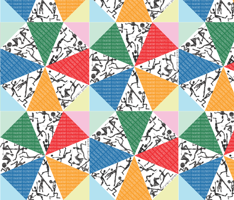Enjoyable games fabric by creative_cat on Spoonflower - custom fabric