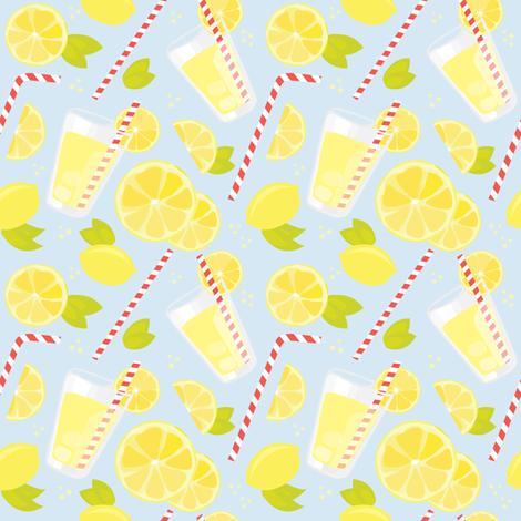 Regular Lemonade fabric by renata_f on Spoonflower - custom fabric