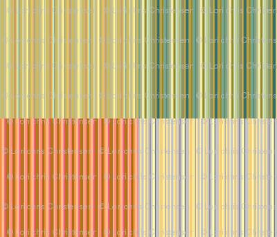 four on a yard stripes