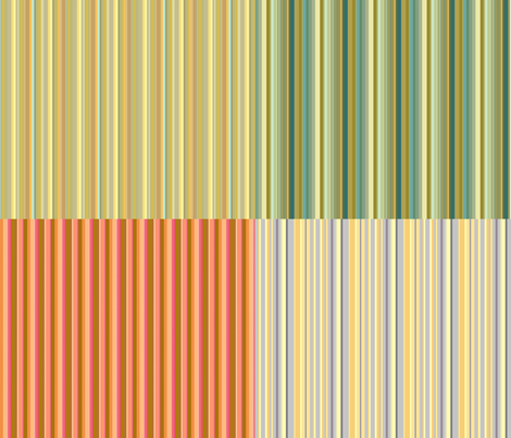 four on a yard stripes fabric by keweenawchris on Spoonflower - custom fabric