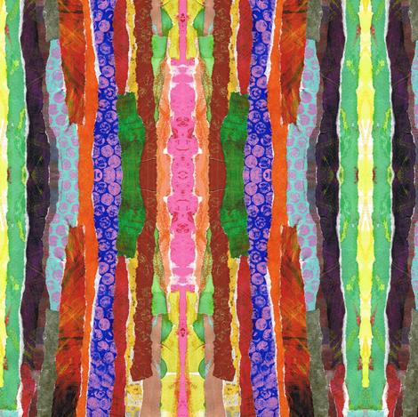 Safari Stripes fabric by eyespotdesigns on Spoonflower - custom fabric