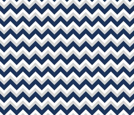 Choppy Sea fabric by fleamarkettrixie on Spoonflower - custom fabric