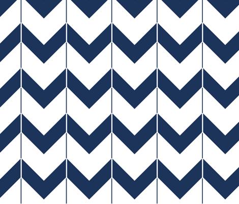 Ocean Caps fabric by fleamarkettrixie on Spoonflower - custom fabric