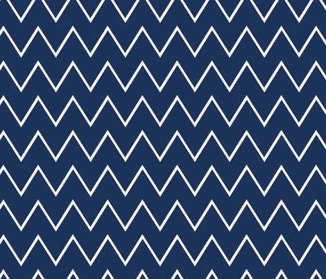 Big Waves fabric by fleamarkettrixie on Spoonflower - custom fabric
