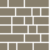 Staxx Shelves (Gray) || geometric bookshelves library book bricks subway tile