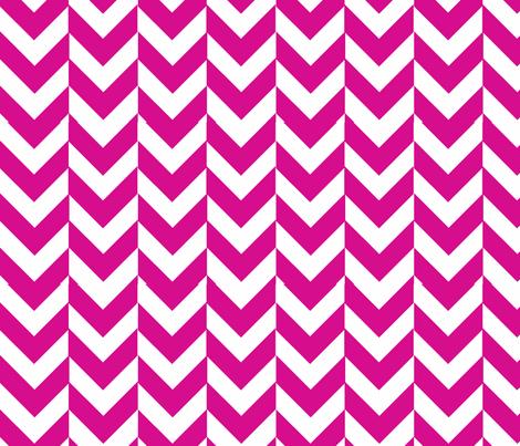 herringbone pink fabric by laurenskye on Spoonflower - custom fabric