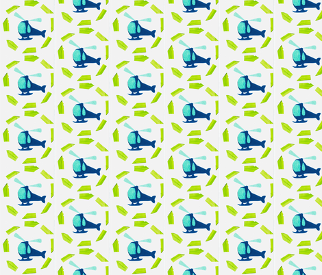 heli fabric by jensmi on Spoonflower - custom fabric