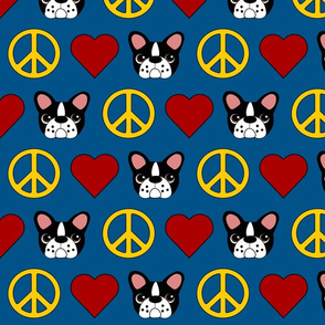 Love, Peace and Frenchies!