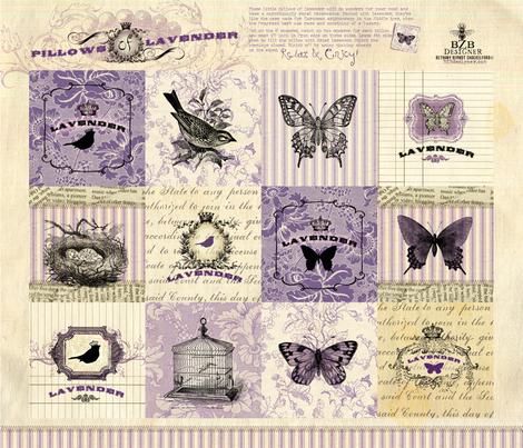 Pillows of Lavender fabric by bethany@bzbdesigner_com on Spoonflower - custom fabric