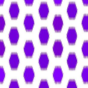 Ikat Carnival Purple