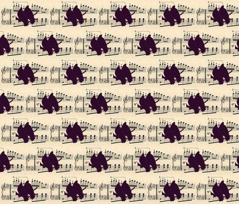 birdmusic fabric by katiemadeit on Spoonflower - custom fabric