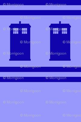 Blue Box Stripes