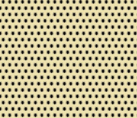 Tick fabric by bjross on Spoonflower - custom fabric