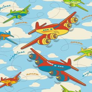 Retro Toy Planes
