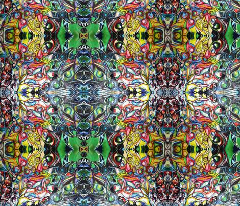 Birds2_09_Crop2 fabric by maryo on Spoonflower - custom fabric
