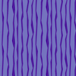 Wonky Stripes - purple
