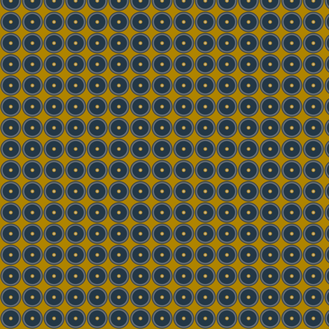 Jet Ditsy fabric by ghennah on Spoonflower - custom fabric
