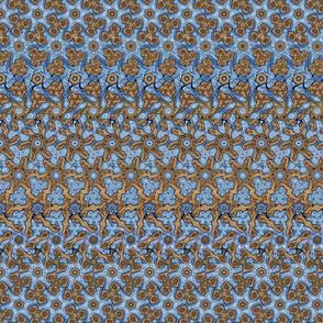 Vertical Morphing Hexagons