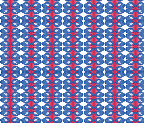 Stew_Cap_Stripe1 (click zoom for detail) fabric by fireflower on Spoonflower - custom fabric