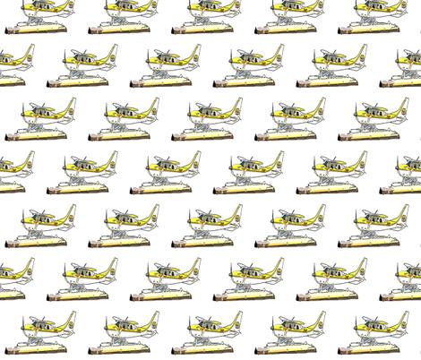 Airplane fabric by cutiecat on Spoonflower - custom fabric