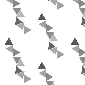 Abstract Bunting Grey