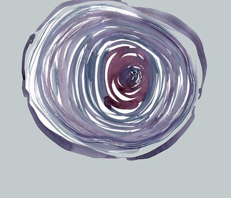 cestlaviv_treerings 27x27 lavender gray fabric by cest_la_viv on Spoonflower - custom fabric