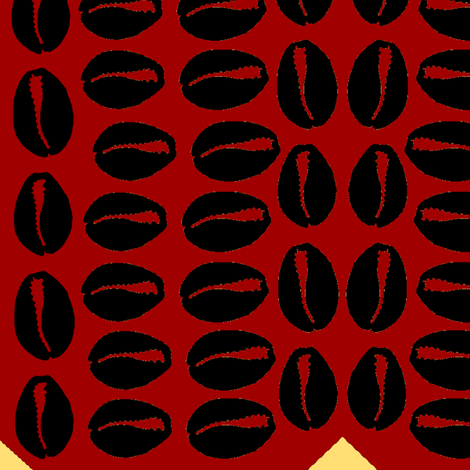 cowrie punch 2 fabric by nalo_hopkinson on Spoonflower - custom fabric