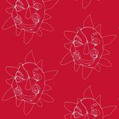 wire sun red-ch