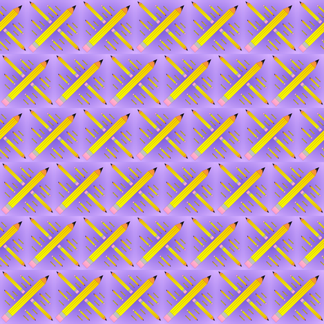 pencil_spoonflower_design_7_27_2012 fabric by compugraphd on Spoonflower - custom fabric