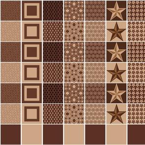 """Mocha-Cocoa 2.5"""" Charms"""