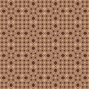 """Mocha-Cocoa Abstract - Light - 2"""""""
