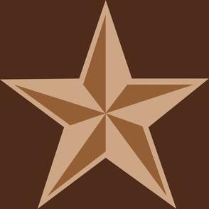 "Mocha-Cocoa Star - Dark - 8"""