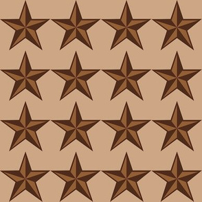 """Mocha-Cocoa Star - Light - 2"""""""