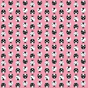 pink ladybugs