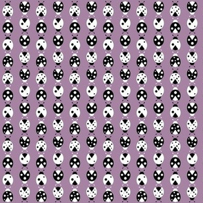 purple ladybugs